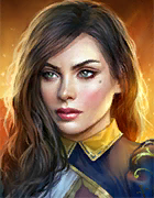 Raid Shadow Legends - Chancellor Yasmin, Epic Banner Lords Champion - Inteleria