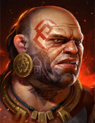 Raid Shadow Legends - Fahrakin the Fat, Epic Barbarians Champion - Inteleria