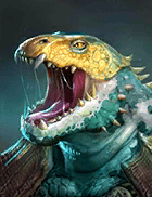 Raid Shadow Legends - Flinger, Rare Lizardmen Champion - Inteleria