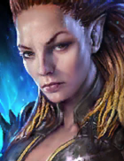 Raid Shadow Legends - Lydia the Deathsiren, Legendary Dark Elves Champion - Inteleria