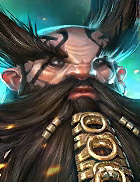 Raid Shadow Legends - Madman, Rare Dwarves Champion - Inteleria