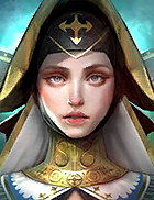 Raid Shadow Legends - Mother Superior, Rare The Sacred Order Champion - Inteleria