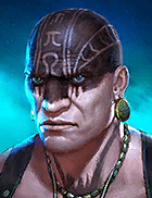 Raid Shadow Legends - Pit Fighter, Uncommon Barbarians Champion - Inteleria
