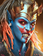 Raid Shadow Legends - Teela Goremane, Legendary Orcs Champion - Inteleria