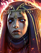 Raid Shadow Legends - Ursala the Mourner, Epic Banner Lords Champion - Inteleria