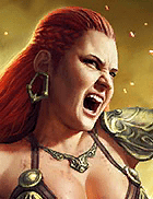 Raid Shadow Legends - Warmaiden, Rare Barbarians Champion - Inteleria