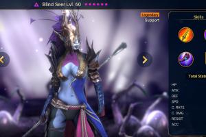 Blind Seer - Raid Shadow Legends - Fastest Champion