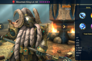 Mountain King - Champion with the highest HP in the game
