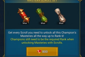 800 Gems for Masteries - Is It Worth It? Raid Shadow Legends.