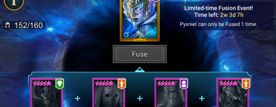 Raid Shadow Legends Pyxniel Fusion