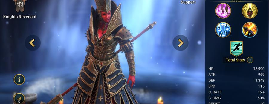Mother Cybele Raid Shadow Legends - Inteleria